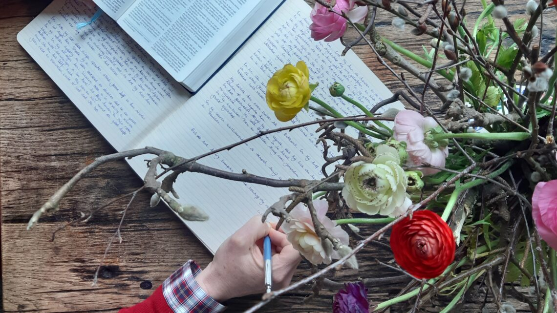 6 suggestions for contemplative writing